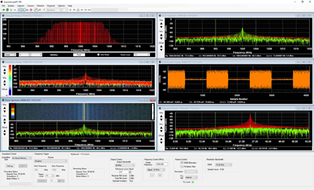SpectraScopeRT: Real-Time Spectrum Analyzer & Signal Recording Application