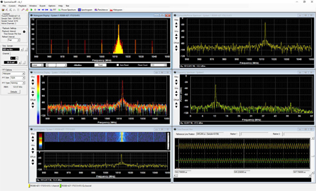 SpectraViewRT: Spectrum Analyzer & Signal Playback Viewer Application